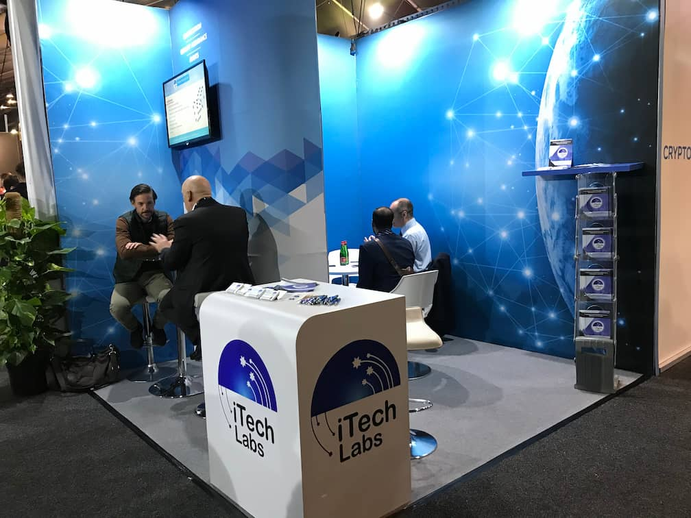 iTech Labs stand at SiGMA