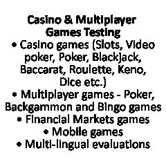 Casino & Multiplayer